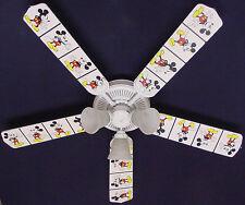 """New MICKEY MOUSE Disney Ceiling Fan 52"""""""
