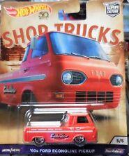 Hot Wheels 2018 Car Culture Shop Trucks '60's Ford Econoline Pickup