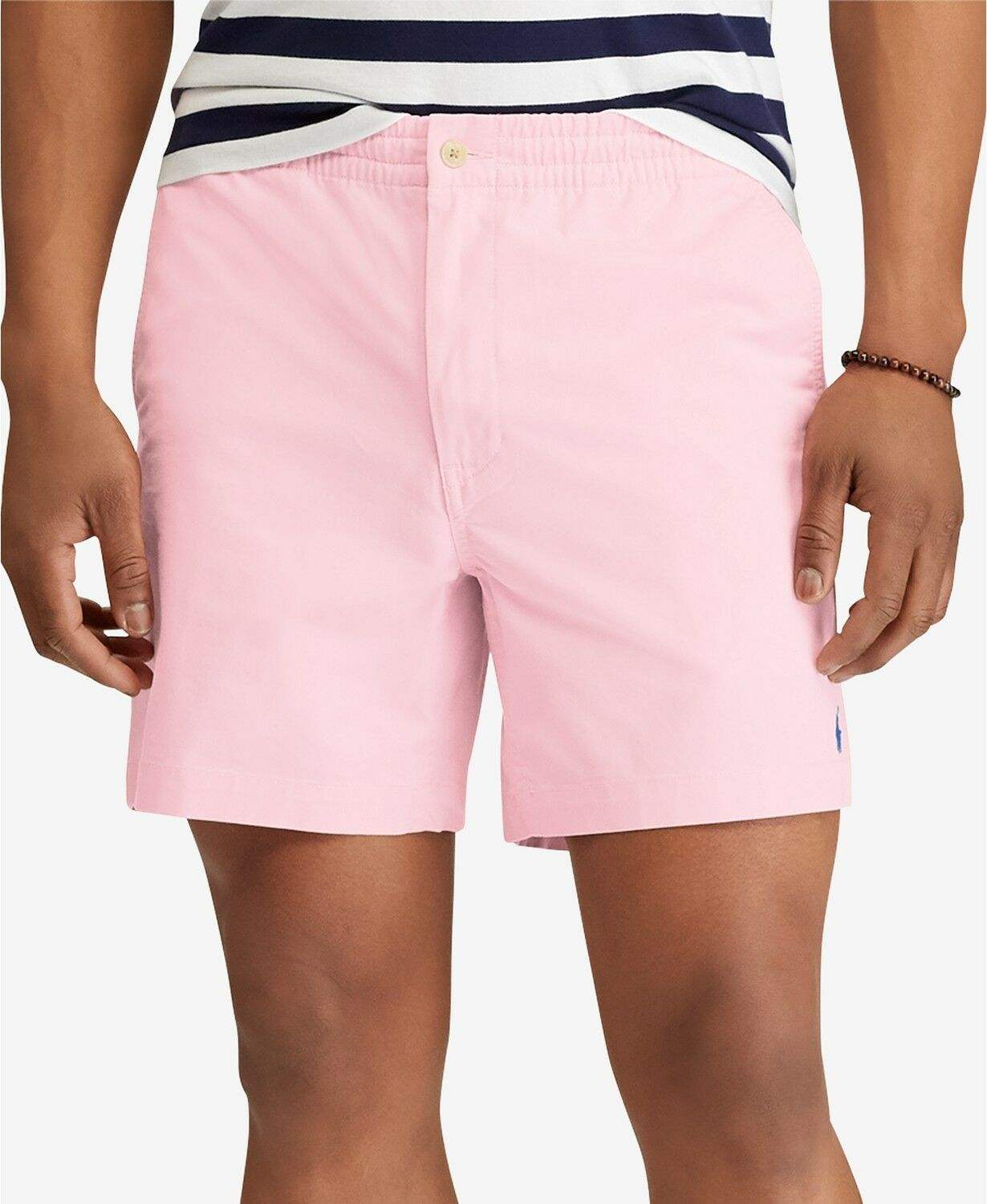 Polo Ralph Lauren 0520 Mens Pink Classic Fit Prepster Shorts Size XX-Large