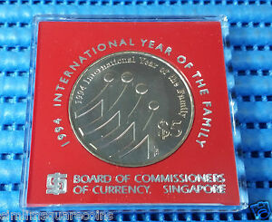 1994-Singapore-International-Year-of-Family-Commemorative-5-Cupro-Nickel-Coin