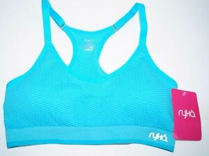 9719ddc846406 NEW Women s Ryka Seamless Athletic Padded Sports Bra Sizes  - S - M ...