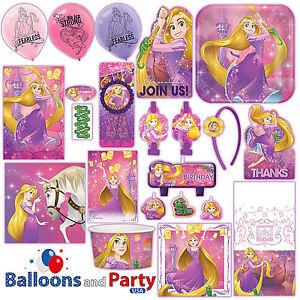 Details About Disney Princess Rapunzel Dream Big Tangled Party Tableware Decorations Supplies