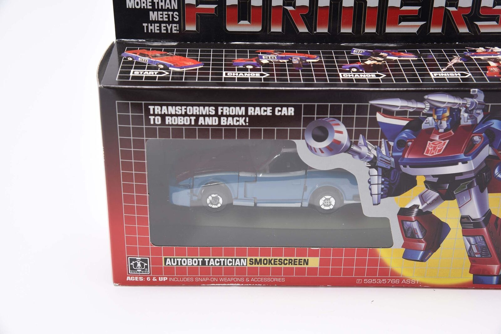 Transformers G1 SMOKESCREEN Reissue Gift Gift Gift Kids Toys Collection Action Figure 356bcf