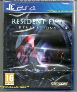 Resident-EVIL-REVELATIONS-HD-034-NUOVO-amp-Sealed-039-PS4-quattro