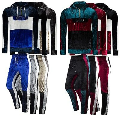 New Men Track Suit Velvet Material GOOD Vibes Heavy Weight Material Sizes M-2XL