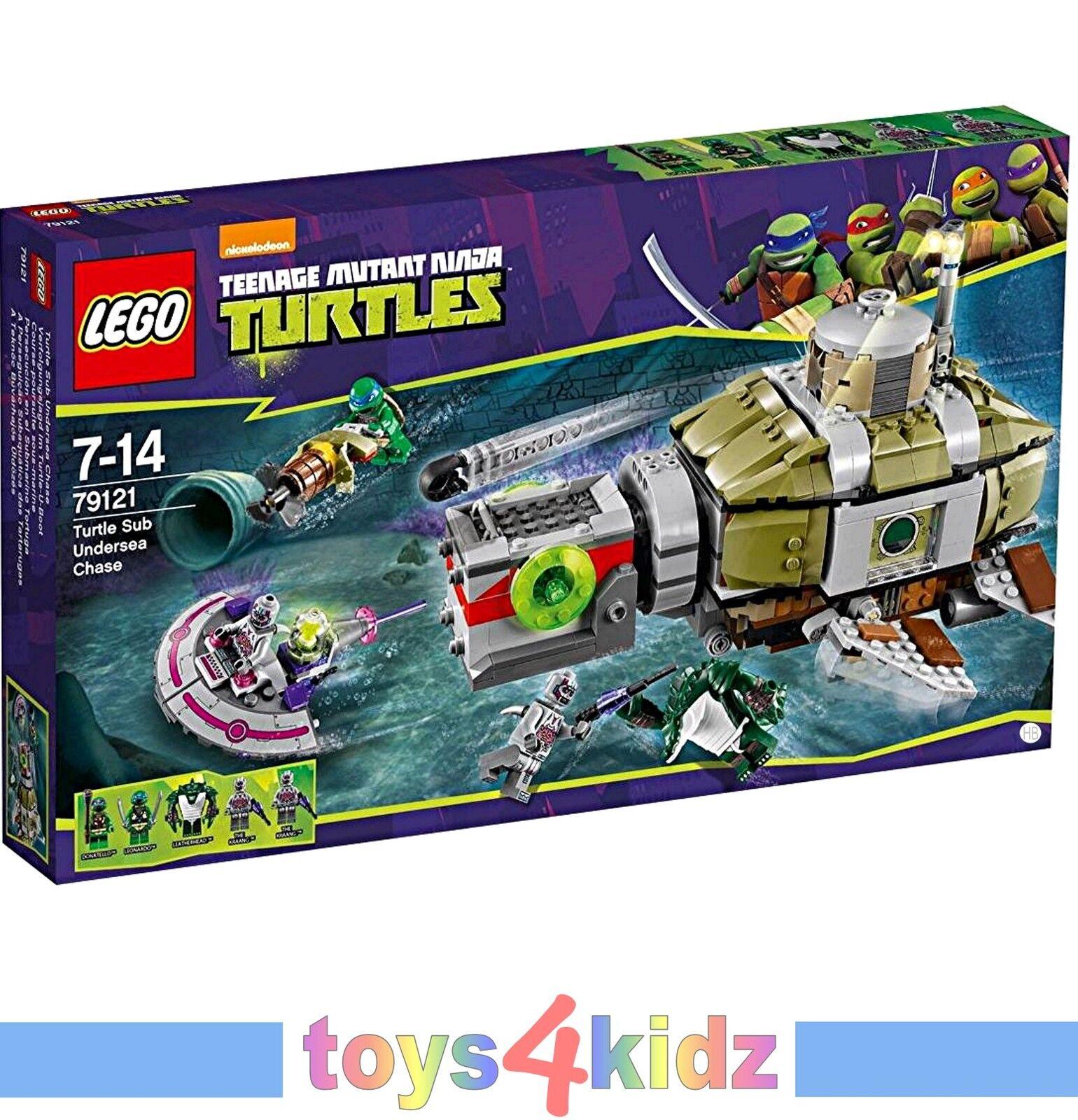 LEGO® TURTLES™ 79100 - 79105 79115 - - - 79120 79121 zum Auswählen   NEU   OVP 0061ee
