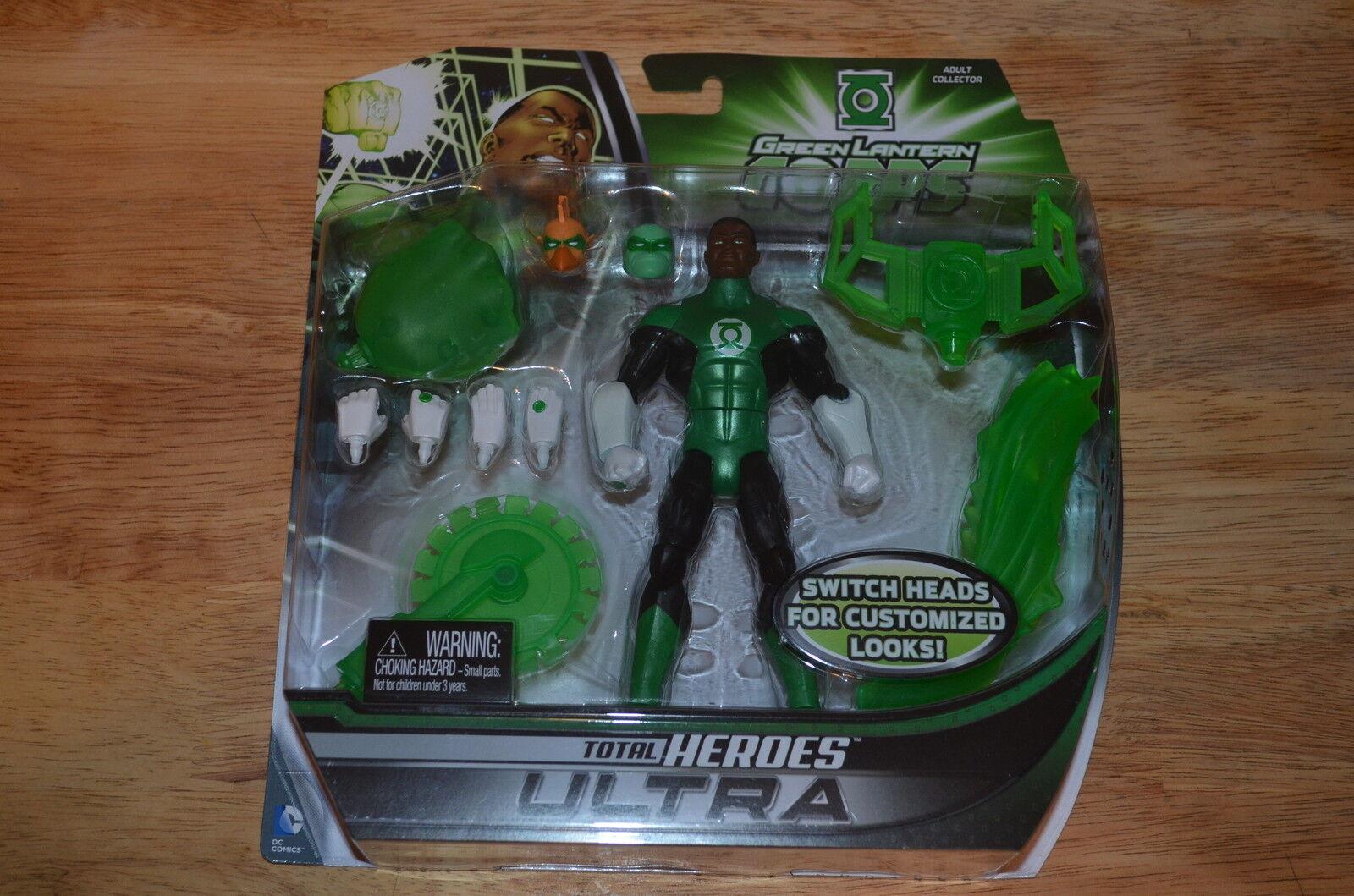 Mattel DC COMICS TOTAL HEROES ULTRA GREEN LANTERN CORPS Deluxe Action Figure
