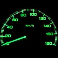 Dash Instrument Cluster Gauges Green Led Lights Kit Fits 98-01 Nissan Pathfinder