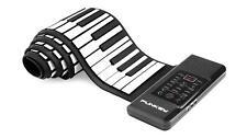 88-TASTEN ROLLPIANO KINDER KEYBOARD ROLLUP E-PIANO MIDI PEDAL NETZTEIL AKKU