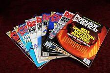 Seven Popular Mechanics & Popular Science Magazines English Monthly various yrs