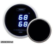 Prosport 52mm Ahumado Digital Intercooler dentro y fuera de la temperatura Calibre Grados C