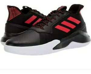 Details about ADIDAS MEN'S RUN THE GAME BASKETBALL SNEAKERS CLOUDFOAM SHOES BLACK/ RED SIZE 11