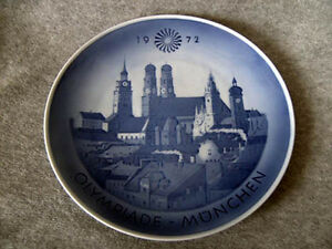 Sammelteller-Royal-Copenhagen-Olympia-1972-Muenchen