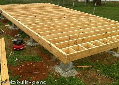 Wood frame house plans house design plans for How to build a garage floor