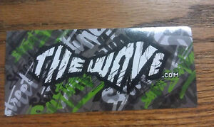 THE-WAVE-STREET-SURFING-TheWave-com-SKATEBOARDS-COOL-Sticker-5-034-x-2-1-4-034