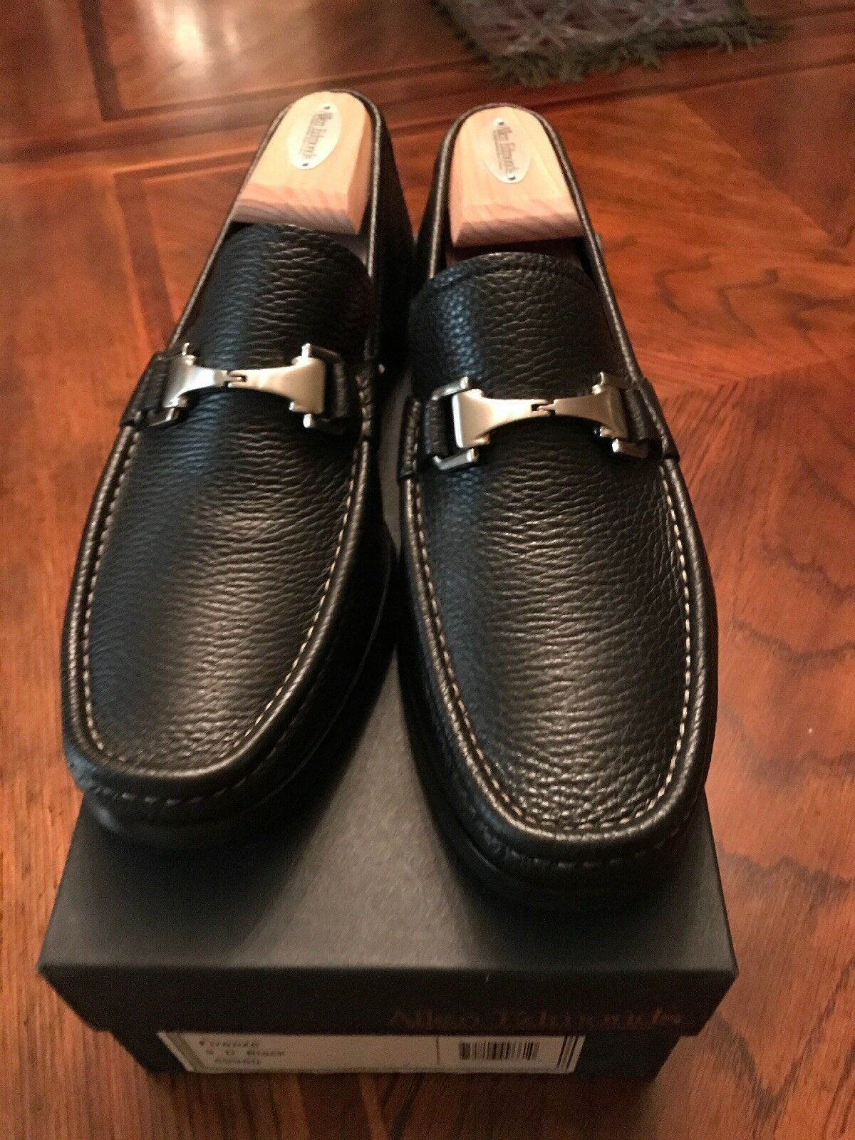 PRACTICALLY NEW  Allen Edmonds Firenze Dress scarpe Dimensione 9 In nero