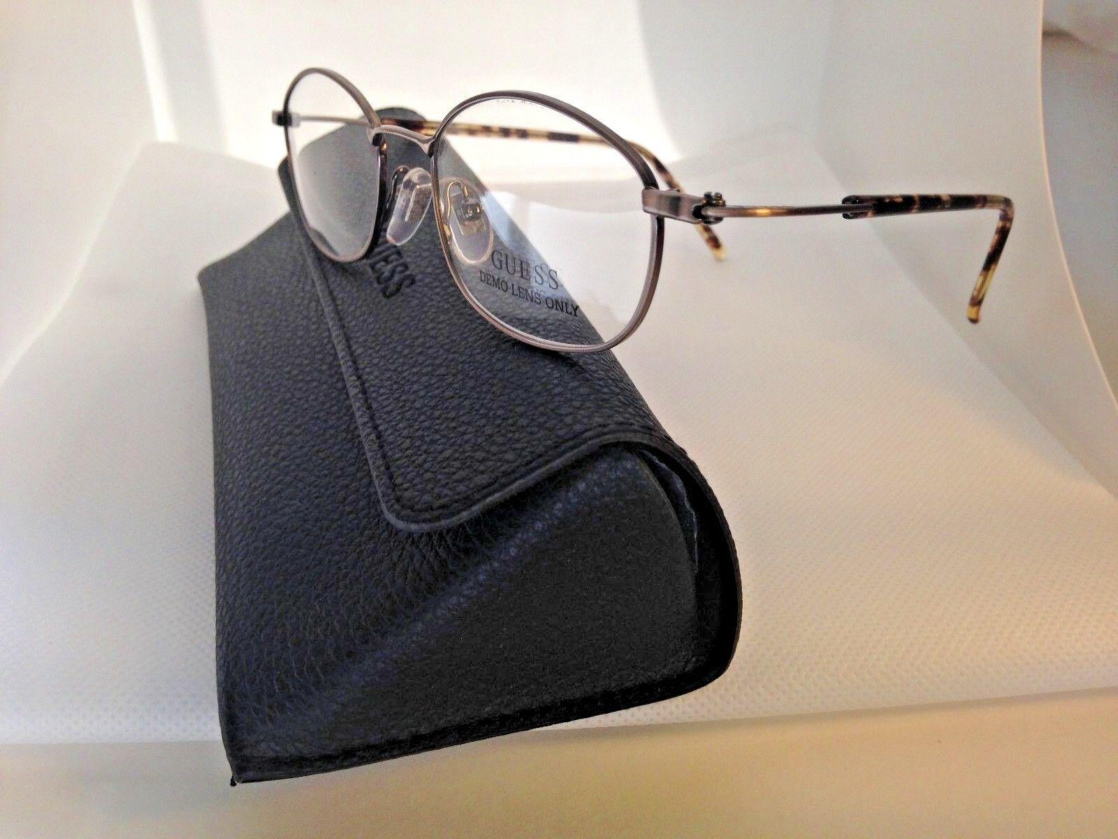 Guess Eyeglass Frames GU596 ABR 48-20-140MM Brown/Tortoise Store Model & Case