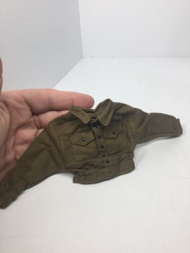 1//6 SCALE BRITISH BROWN TUNIC SHIRT UNIFORM WW2 Dragon BBI DID 21ST Century