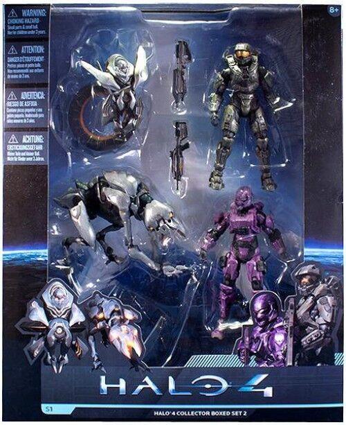 Halo 4, reihe 1, halo 4 sammler packungssätze 2 exklusive action figure set   2