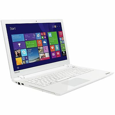 Toshiba L50-C 15.6 Inch Intel 1.7GHz 4GB 1TB Windows 1.7 Laptop - White :Argos