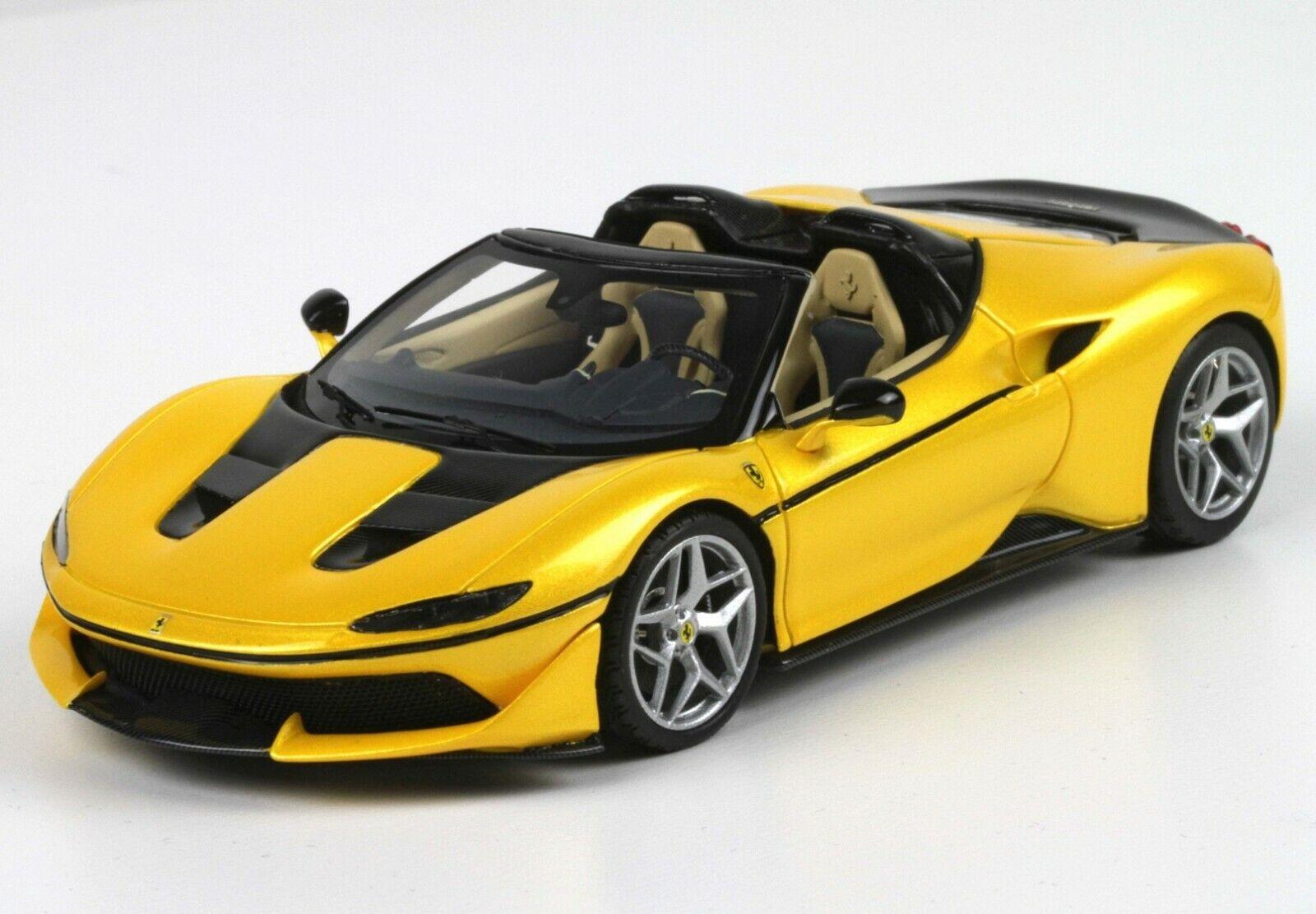 BBR  Ferrari J50 Gloss jaune Triple Strait Beige LE 60pc BBRC208E 1 43nouveauRARE  magasin d'usine