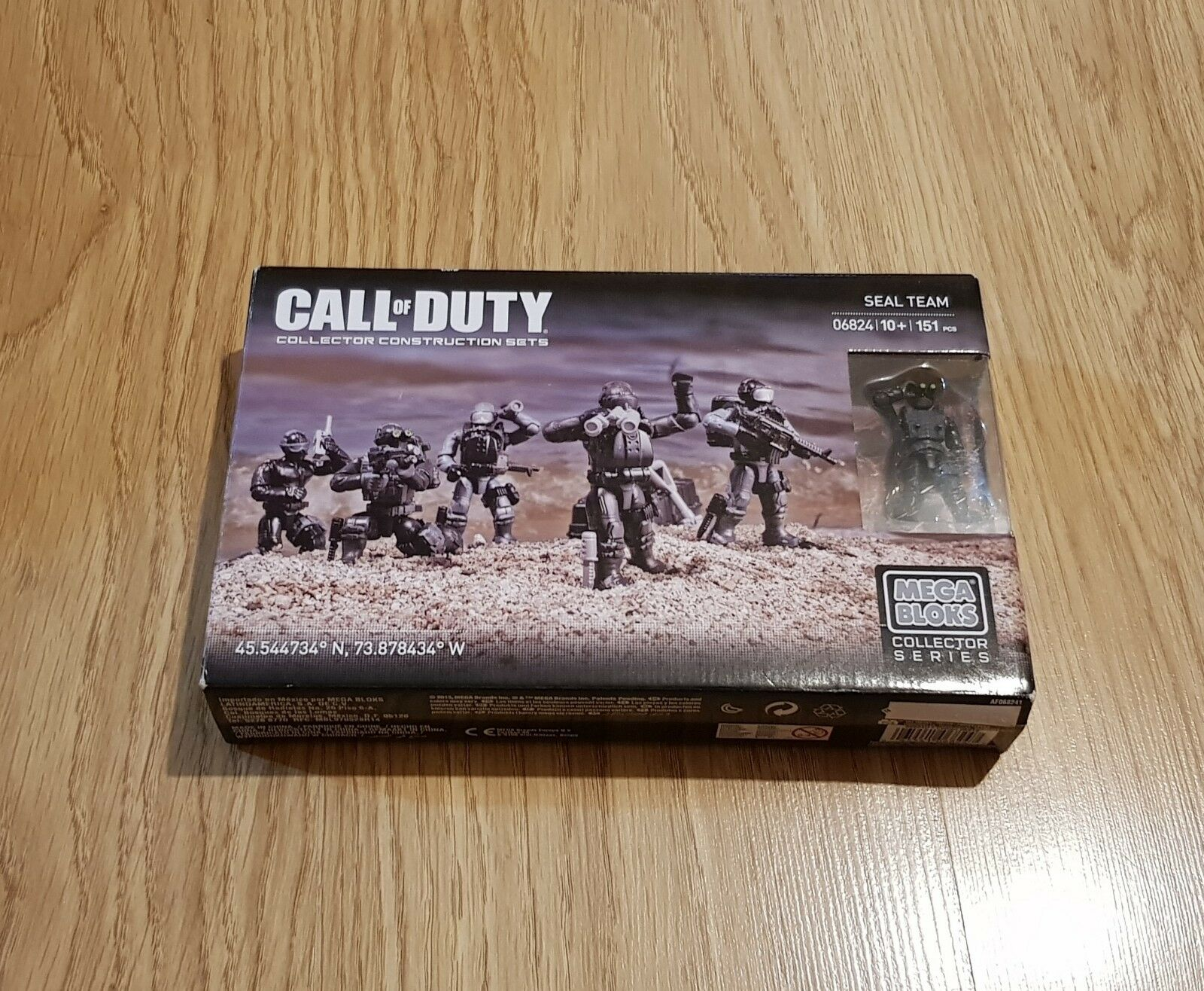 Mega Bloks CALL OF DUTY Collector Set RIB BEACH ASSAULT Ref DCL25-162 Pieces