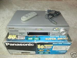 Panasonic-NV-HS825-S-VHS-ET-Videorecorder-in-OVP-inkl-FB-2-Jahre-Garantie