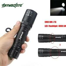Sky Wolf Eye 4000LM Zoomable CREE XM-L T6 LED High Power Flashlight Torch Lamp