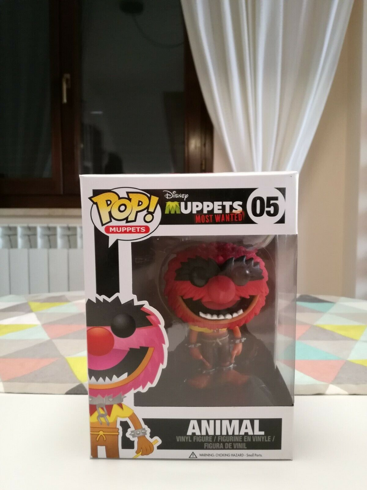 Funko Pop  VAULTED Muppets - Animal (Inclusa Pop  Projoector)