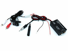 Wired FM Modulator transmitter FMMOD6 iPod iPhone MP3 in car music AUX Connects2