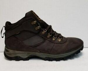 Men's Timberland Mt. Maddsen Mid Waterproof Hiking Boot Browb 2730R Size 13