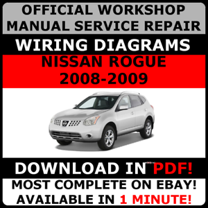 image is loading official-workshop-service-repair-manual-for-nissan-rogue-