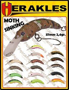 Artificiale-spinning-hard-bait-Herakles-MOTH-SINKING-crank-37mm-2-4gr-trout-area