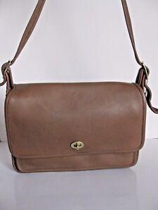 Details about Vintage Coach 9875 Classic Pocket Bag Putty Beige Excellent Rare