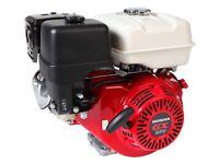 Motor Honda Gx270ut2qa2 9 Caballos Con Eje Horizontal Y Arranque De Retroceso