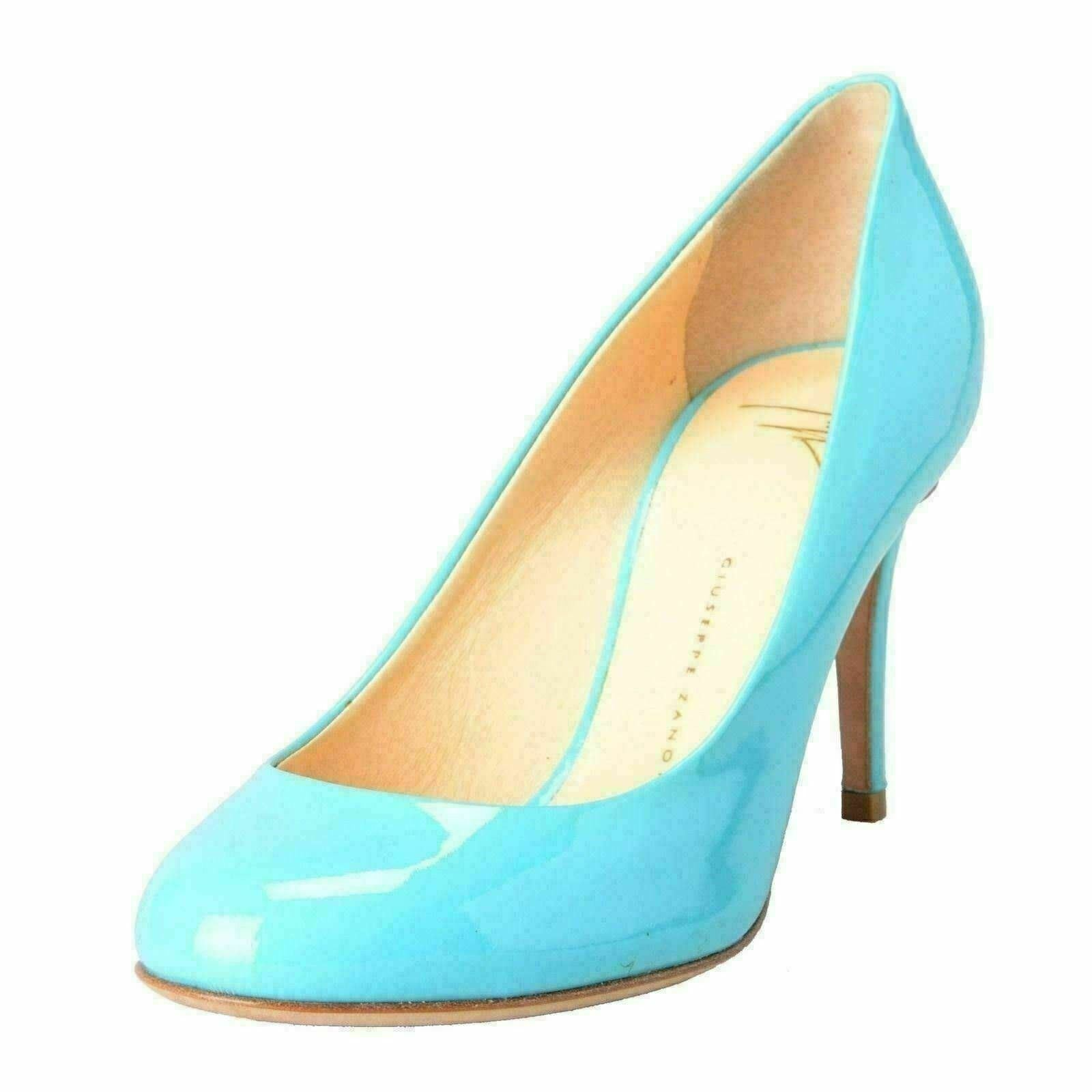 Giuseppe Zanotti Design Damen Aqua Blau Pumps High Heels Schuhe US 5 It 36