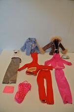 Vintage Barbie Clothing Lot, Jumpsuit, evening Wear, Jacket, Swimsuit, Etc.
