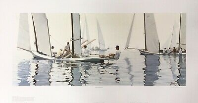 Richard Harryman Signed Print Becalmed