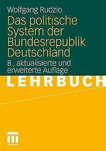 Das politische System der Bundesrepublik Deutschland von...   Buch   Zustand gut