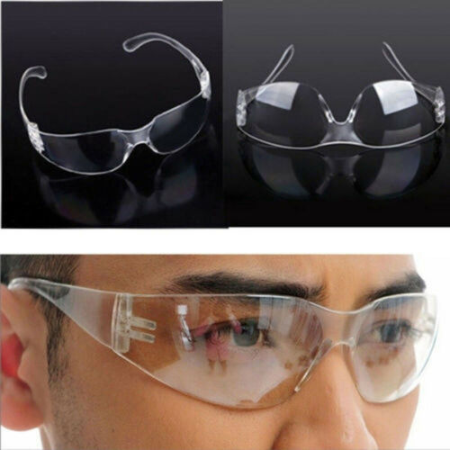 Windproof  Safety Goggles Glasses Clear Eye Protection Protective Lab Anti Fog