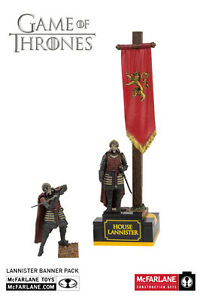 House Lannister bannière Men armée Game of thrones Building set mbs19361 McFarlane  </span>