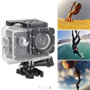 2.0'' Ultra Full HD 1080P Waterproof Action Camcorder Sport DV AV Camera Car Cam