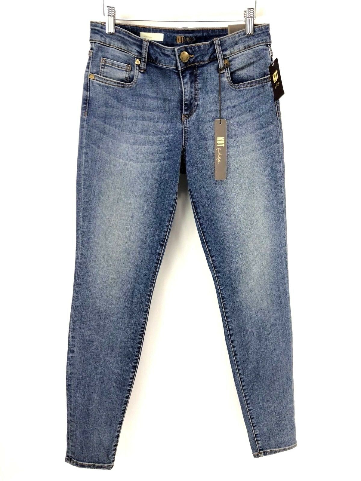 Kut From The Kloth Womens Jeans Size 6 Light Wash Skinny Jeans women NEW