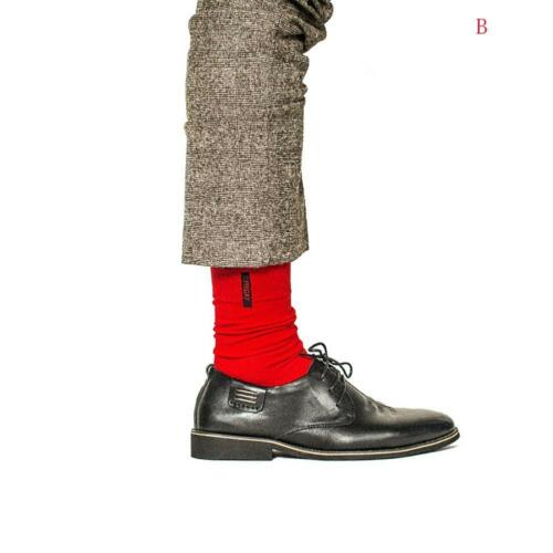 Fashion Men British Style Cotton Socks Business Casual Weekly Socks-Solid