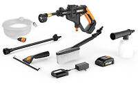 Worx WG629.1 20V Hydroshot Portable Power Cleaner with Battery, Charger & Cleaning Kit - Manufacturer Refurbished