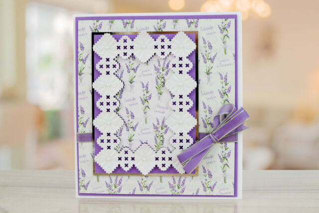 New Tattered Lace /'A6 WHITEWORK FRAME/' DIE TLD0040 FREE 1st Class UK P/&P