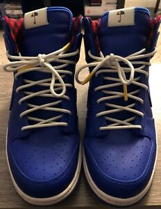 size 40 8fea5 c4a54 Image is loading Nike-Dunk-High-Ultra-Rain-Jacket-Blue-Size-
