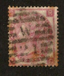 Great Britain stamp #44, used, wmk. 24,  Queen Victoria, 1865, SCV $215