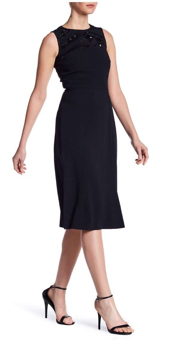 NWT BOSS HUGO BOSS Sleeveless Zip Dress 12