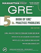The 5 lb book of gre practice problems